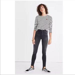 Madewell High-Rise Skinny Jeans: Step-Hem Edition